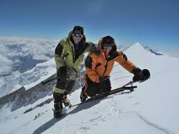 Benet and Meroi have scaled the 14 highest mountains in the world