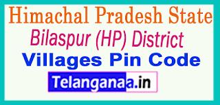 Bilaspur (HP) District Pin Codes in Himachal Pradesh State