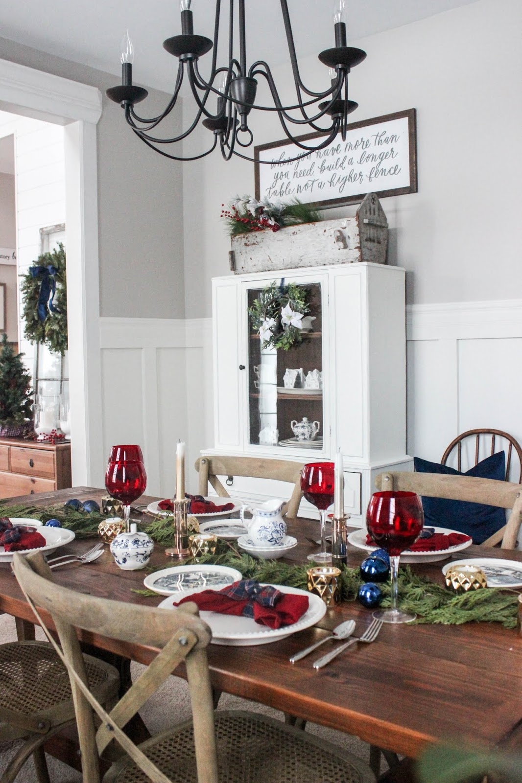 bloggers christmas home tour