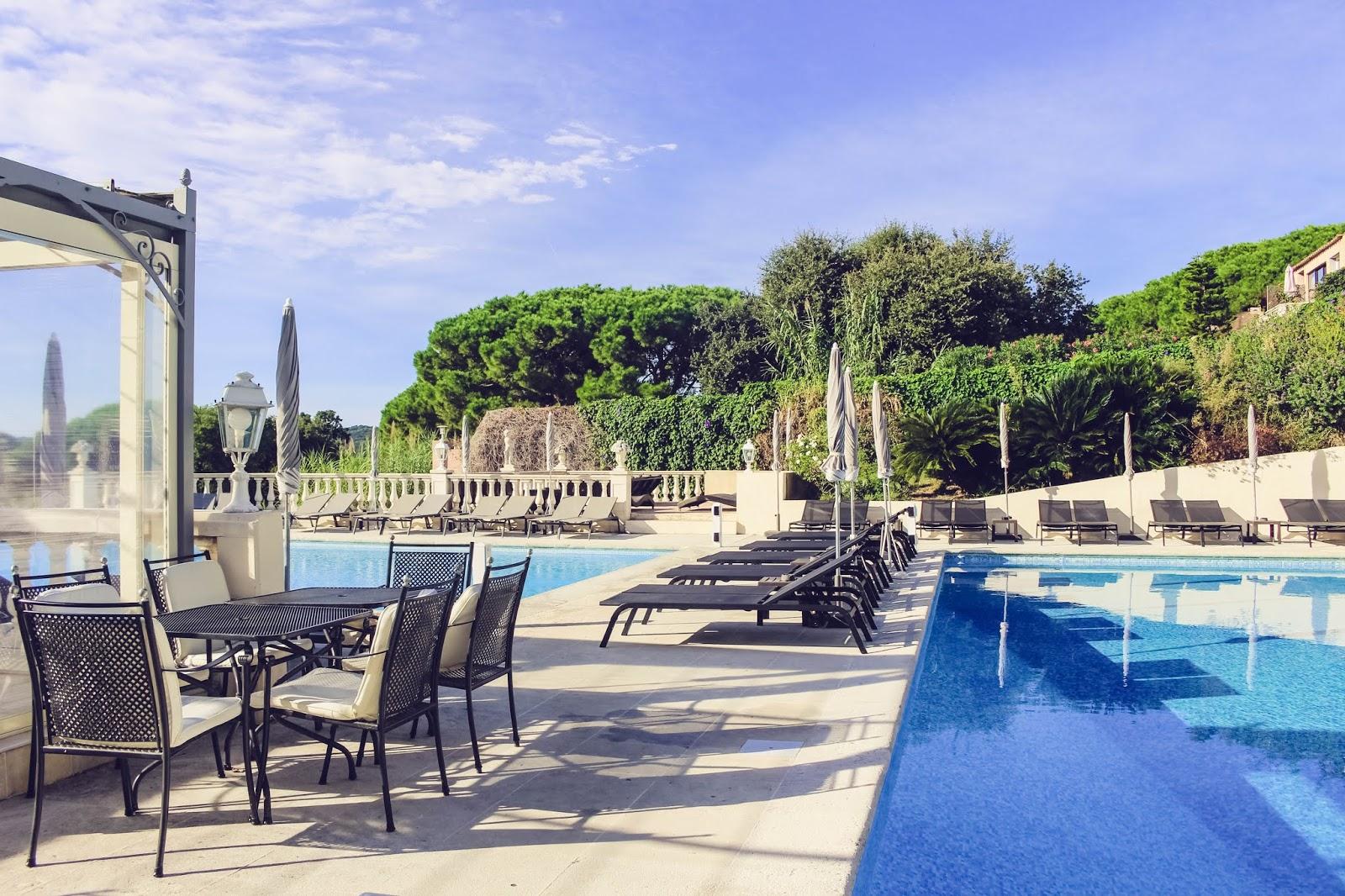 blog voyage hôtel mas Bellevue saint Tropez