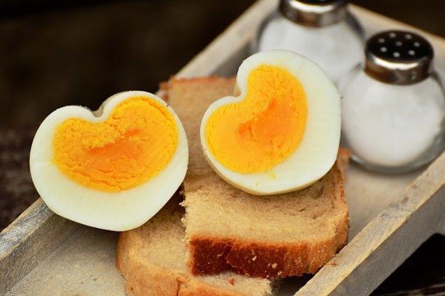 البيض المسلوق يساعد على انقاص الوزن