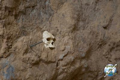 El lugar donde se encontró el cráneo del hombre de Tautavel