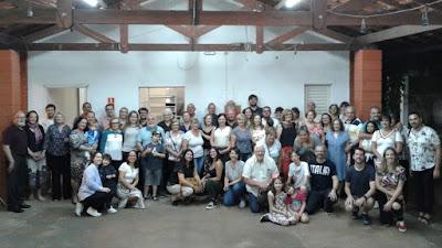 No horário vespertino de 16 de novembro de 2019, cerca de 70 amigos - ou seriam irmãos? - se reuniram na Igreja Evangélica Luterana de Nova Odessa para mais um culto em nome do Senhor.
