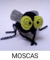PATRONES MOSCAS AMIGURUMI