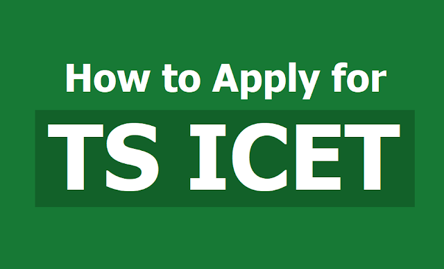 How to Apply for TS ICET 2019, Submit TSICET Online Application form till March 03