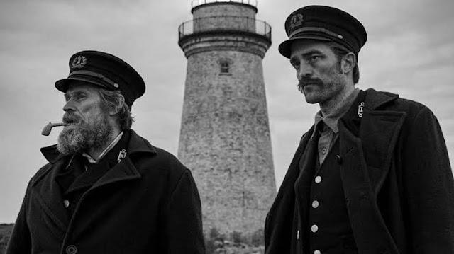 Robert Pattinson e Willen Dafoe/The Lighthouse/Divulgação