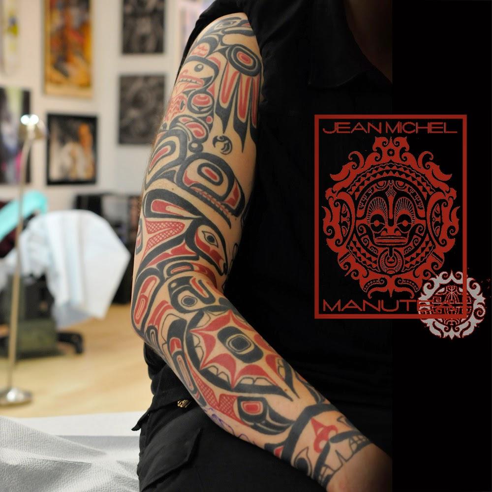 Tatouage Polynesien And Norse Tattoo Haida Tattoo