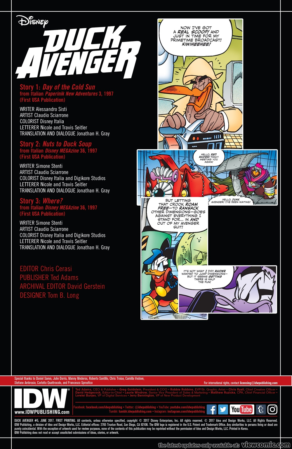 Duck Avenger 005 (2017) ......... | Vietcomic.net reading comics online for free