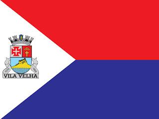 Bandeira do município de Vila Velha, ES. Fonte: site oficial da PMVV.