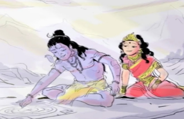 shiv and parvati images