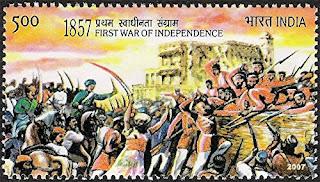 1857-ലെ ഒന്നാം സ്വാതന്ത്ര്യസമരം First war of Indian Independence