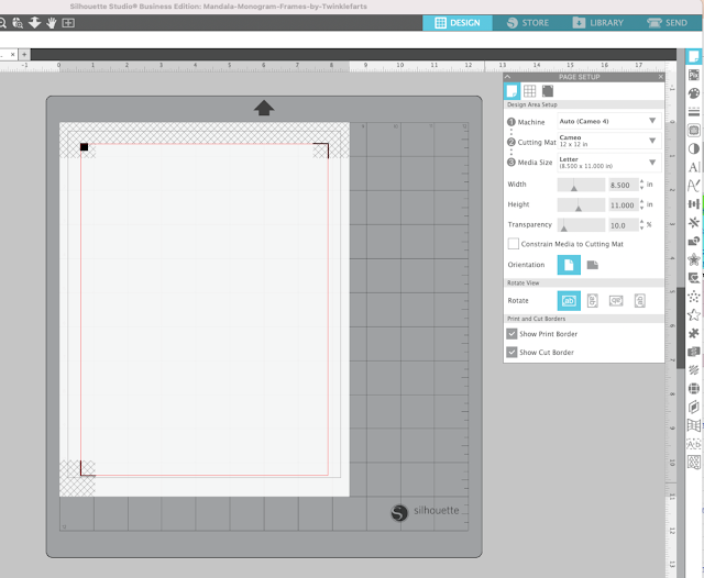 print and cut, printables, troubleshooting, Silhouette CAMEO, silhouette studio