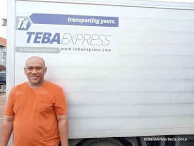 Andik Purwo Widagdo, pendiri Teba Express