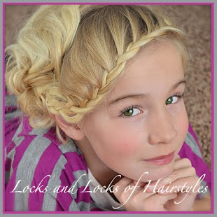 Lace Braided Bangs