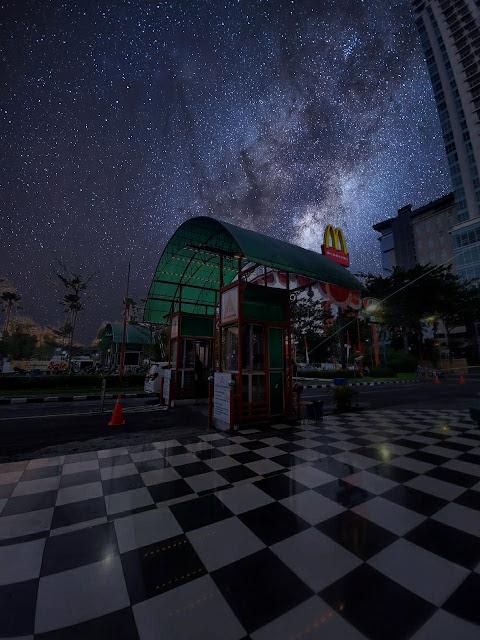Fitur Sky di Miui Gallery, milky way,