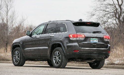 2017 Jeep Grand Cherokee Configurations