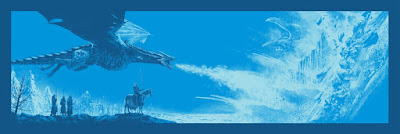 "Game of Thrones ""Now Their Watch Is Ended"" Screen Print by Mark Englert x Bottleneck Gallery"