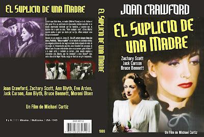 Carátula dvd: Alma en Suplicio / Mildred Pierce / El suplicio de una madre