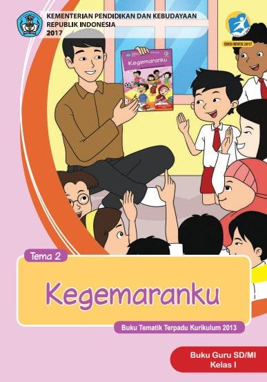 Buku Guru Kelas 1 SD/MI Tema 2 Kurikulum 2013 Edisi Revisi