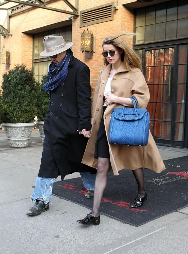 Amber Heard street style look