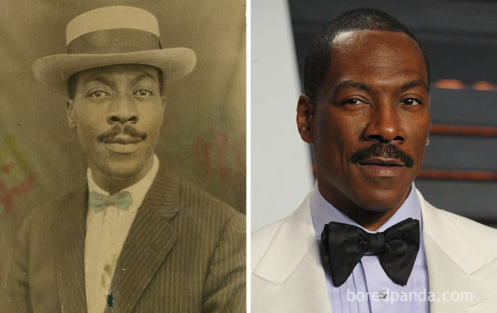 #4 This Classy Man And Eddie Murphy - 10 Celebrity Lookalikes That Prove Time Travel Exists