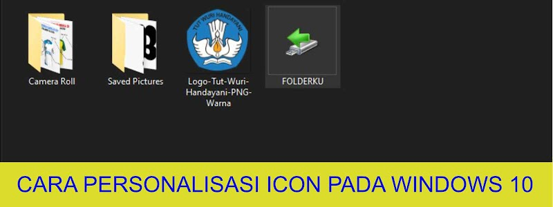 Cara Custom icon pada Windows 10 terbaru 2020