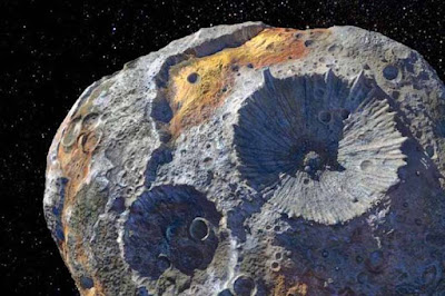 Asteroide de oro, que nos haría billonario a todos los habitantes del planeta-TuParadaDigital