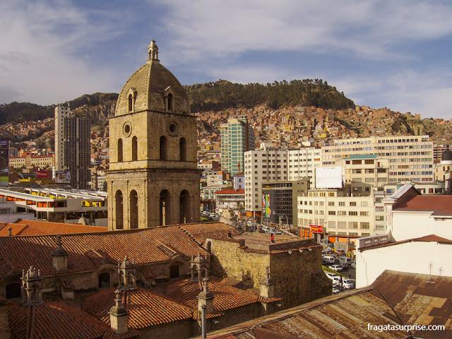 La Paz, Bolívia - Igreja de San Francisco