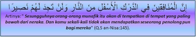 surah an-Nisa ayat 145