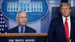 World report: Anthony Fauci and two other members of the White House Covid-19 task force will be quarantined