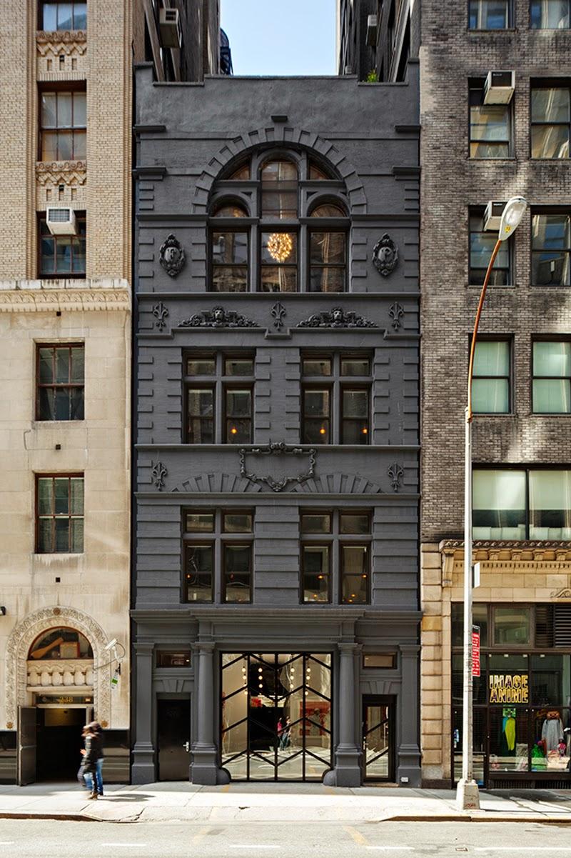 Matte Black Buildings