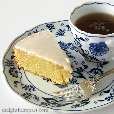 French Almond-Rum Cake - Gateau Nantais / www.delightfulrepast.com