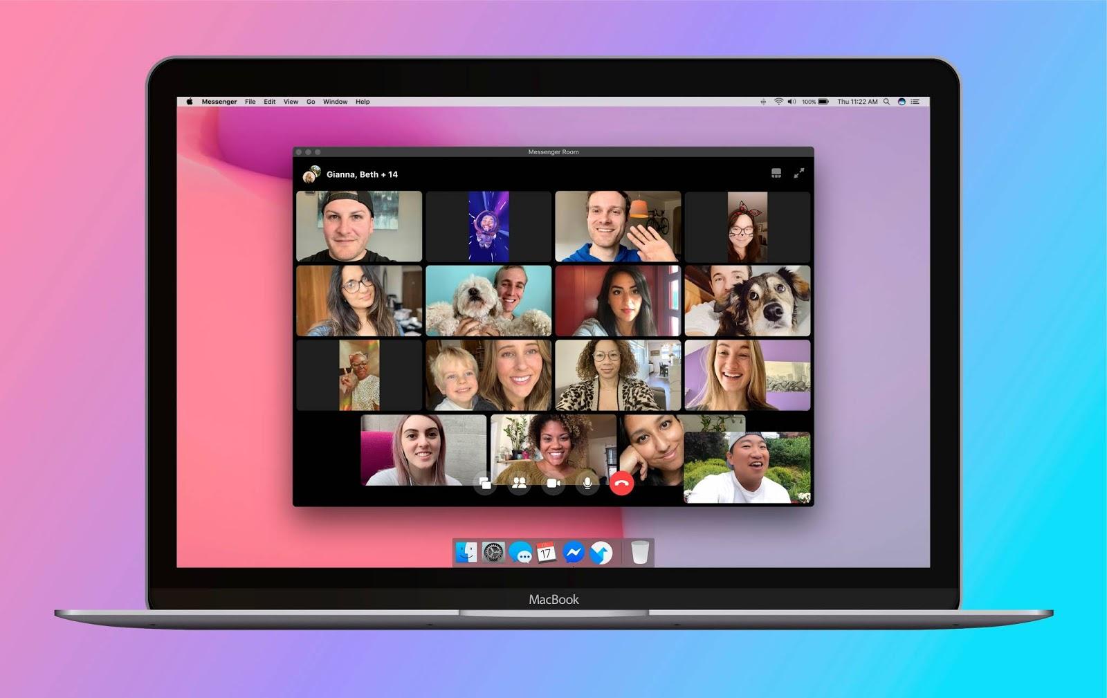 [E non solo] Facebook annuncia Messenger Rooms, videoconferenze fino a 50 partecipanti | Video