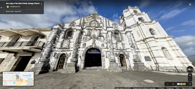 "Google encourages virtual ""Visita Iglesia"" for Holy Week on Street View"