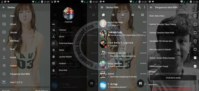 BBM Transparan Update fix v3.2.5.12 Apk Clone unclone