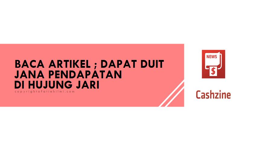 Cashzine Malaysia