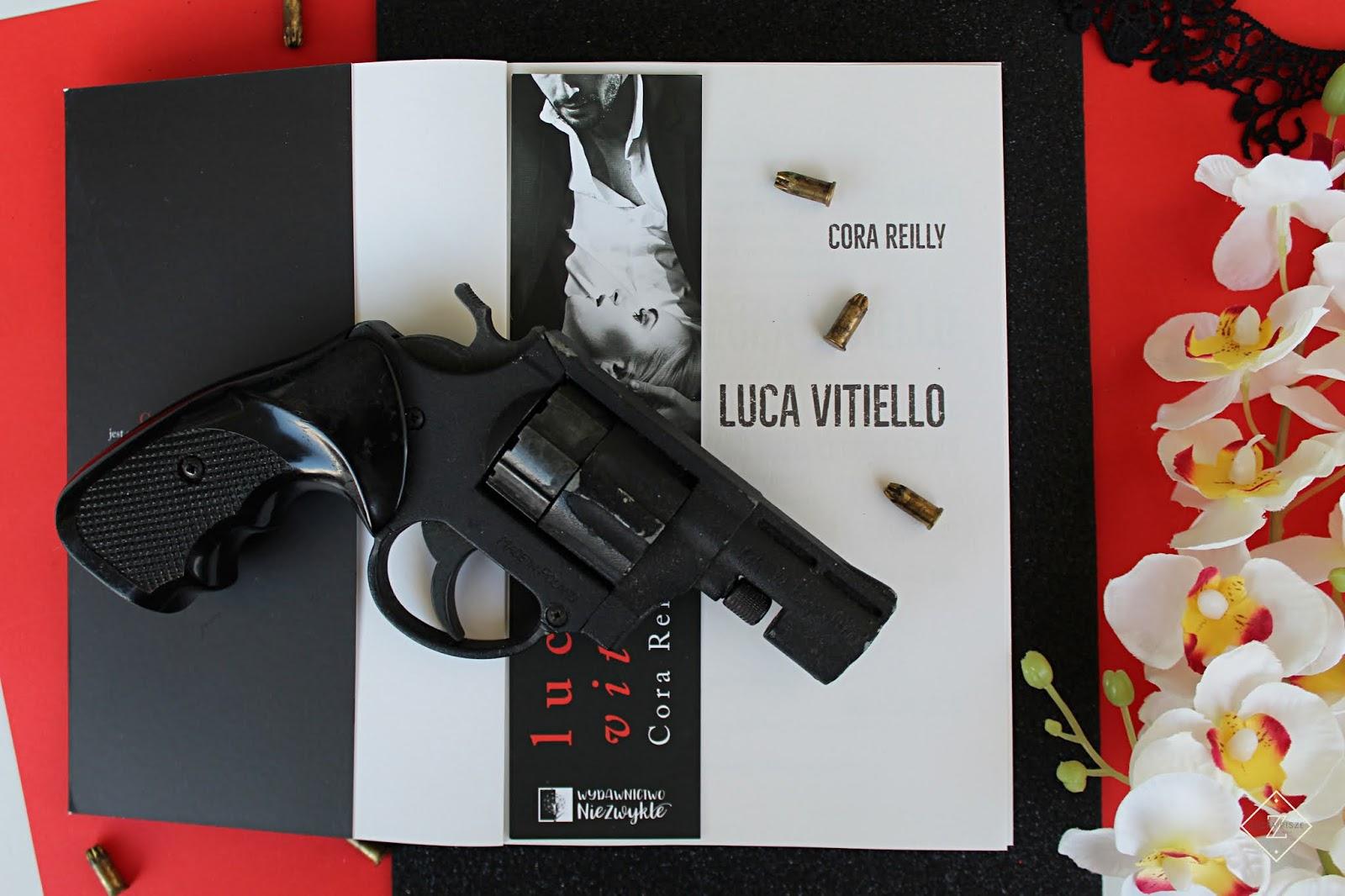 "Cora Reilly ""Luca Vitiello"" - recenzja książki"