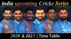 upcoming cricket series of team india