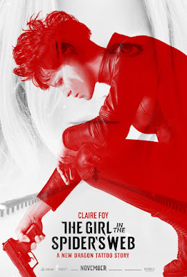 The Girl In The Spiders Web Movie Poster 2