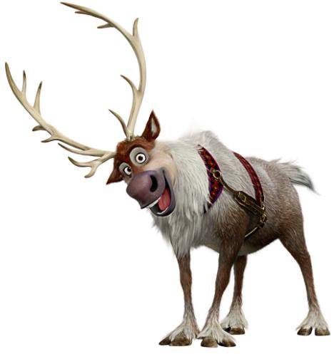 disney frozen fan sven kristoff 39 s reindeer