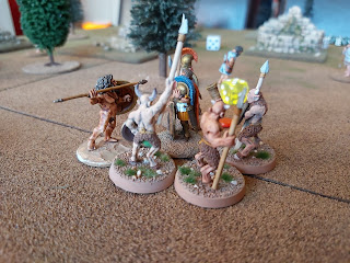 The Satyrs attack!