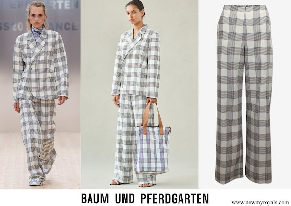 Crown Princess Victoria wore Baum und Pferdgarten Nyo Trousers