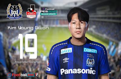 PES 2021 Faces Kim Young-Gwon by CongNgo