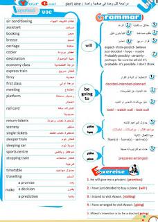 مراجعة لغة إنجليزية الشهادة الإعدادية الترم الثانى