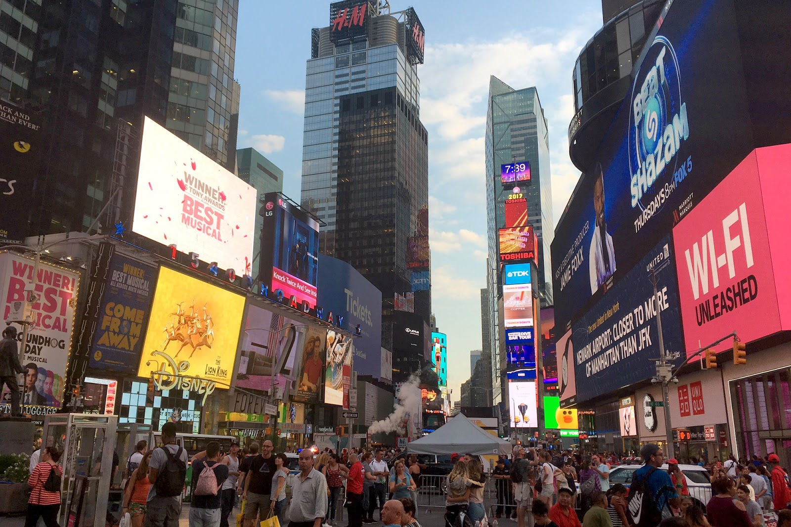 new york times square shopping guide