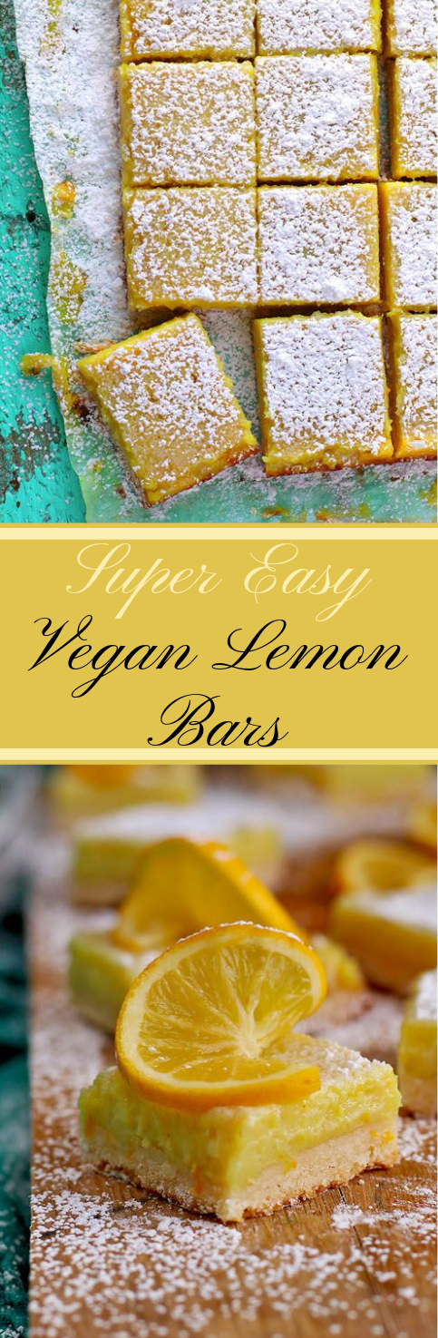 Vegan Lemon Bars #dessert #cake