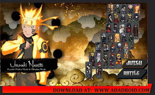 Naruto Senki Mod Naruto Legends Ninja Adventure (2nd Version) Apk