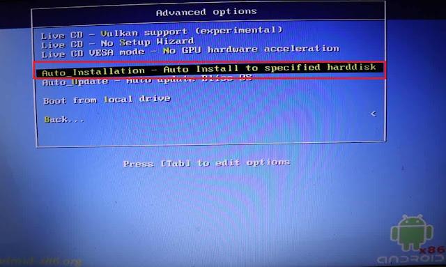 شرح تحميل Bliss OS نظام أندرويد متكامل للكمبيوتر مع شرح الفورمات وتنصيب النظام