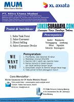 Loker Surabaya di PT. Mitra Utama Madani Kota Malang Maret 2020