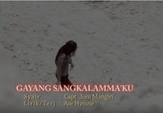 Lirik lagu Gayang Sangkalamma'ku (Salma Margareth)